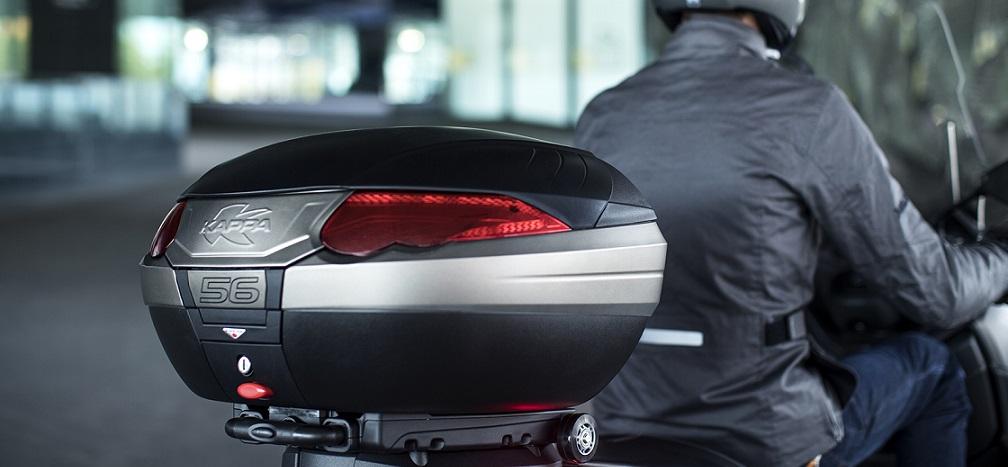 Scooter Moto Quad valise top case universel de moto contient jusqu/à 2 casques XXL 48L TOP CASE coffre