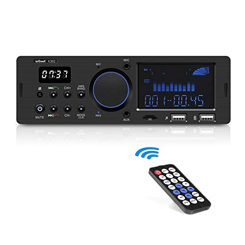 Auxiliaire /& et Entr/ée Cam/éra Arri/ère Parkomm 7 Pouces 2 Din Autoradio avec /écran Tactile HD Bluetooth USB//FM // MP5 // TF Autoradio Bluetooth Lecteur St/ér/éo de Voiture MP5