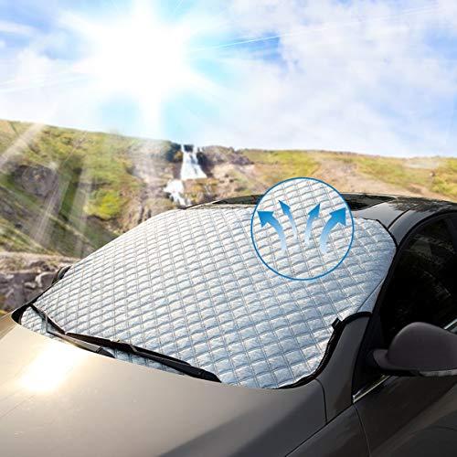 Protection UV DYFFLE Pare Soleil Voiture Bébé- 2 Pièces Pare-Soleil Fenêtre de